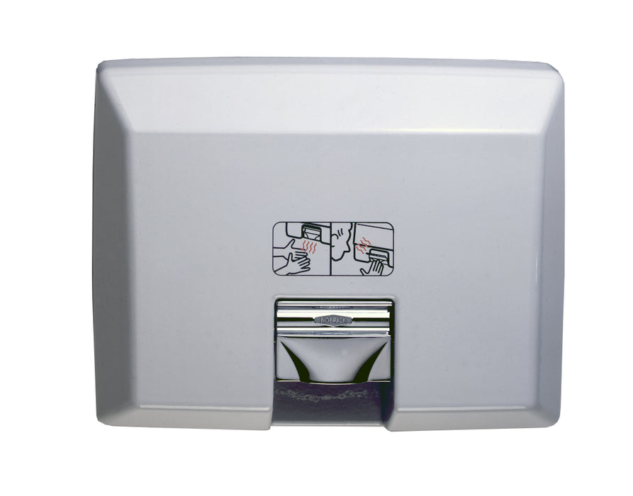 Bobrick AirCraft B-750 Recessed Automatic Hand Dryer-Bobrick-Allied Hand Dryer
