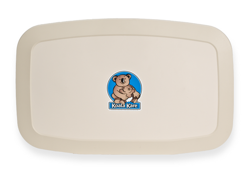 Koala Kare® KB200-00 - Surface Horizontal Cream Baby Changing Station