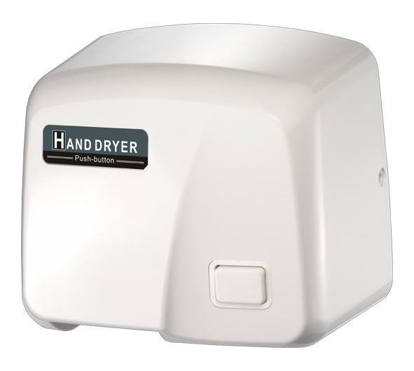 HK1800PS, FastDry White ABS Hand Dryer