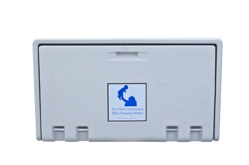 AHD 100-05 White Granite Horizontal Baby Changing Station-Our Baby Changing Stations Manufacturers-AHD-Allied Hand Dryer