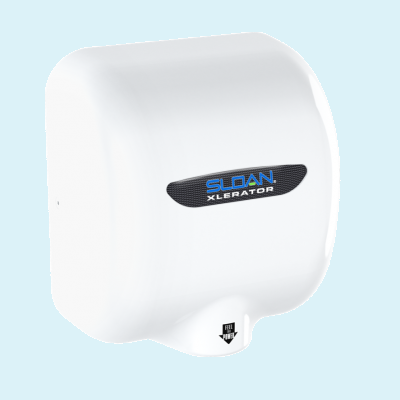 Sloan EHD-501-PW Hand Dryer in Polished White-Our Hand Dryer Manufacturers-Sloan-110-120 Volt-Allied Hand Dryer
