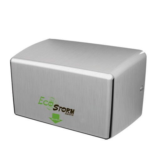 EcoStorm HD0940-09 Hand Dryer, Eco Storm, Palmer Fixture HD940 SS, High Speed Hand Dryer, Stainless Steel Cover - Allied Hand Dryer