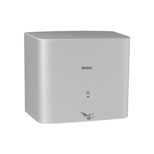 Toto Hand Dryer - HDR130#SV, TOTO Clean Dry Aluminum Compact Automatic High Speed-Toto Hand Dryers-Allied Hand Dryer