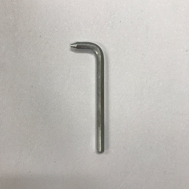 WORLD DXA57-974 (277V) SECURITY COVER BOLT ALLEN WRENCH (Part# 204TP)-Hand Dryer Parts-World Dryer-Allied Hand Dryer