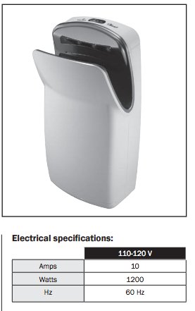 Get Your VMax No Touch Hand Dryer from Allied!