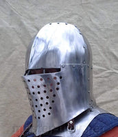 Helmet for modern fighting. IMCF optimized with source