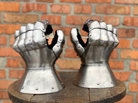 "Titanium gauntlets ""Taurus"" with mobility wrist"