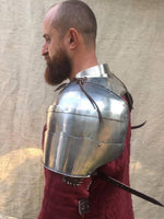 Big plate shoulders with gorget