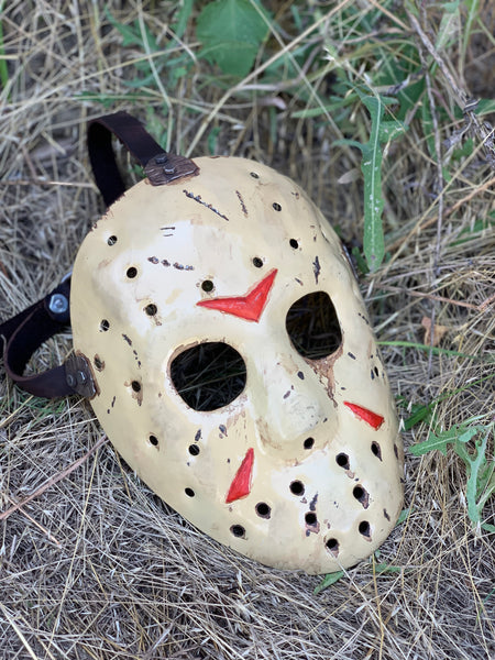 "Steel mask ""Friday 13"""