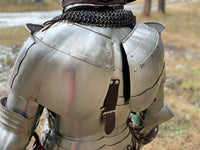 "Plate shoulders ""Flemish Knight"" for jousting(tempered)"