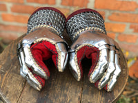 Mongolian Mittens (tempered)