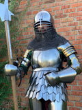 Cuiras with scale skirt