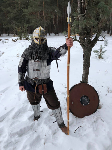 "Larp/SCA set ""Heavy Viking"" (tempered steel)"