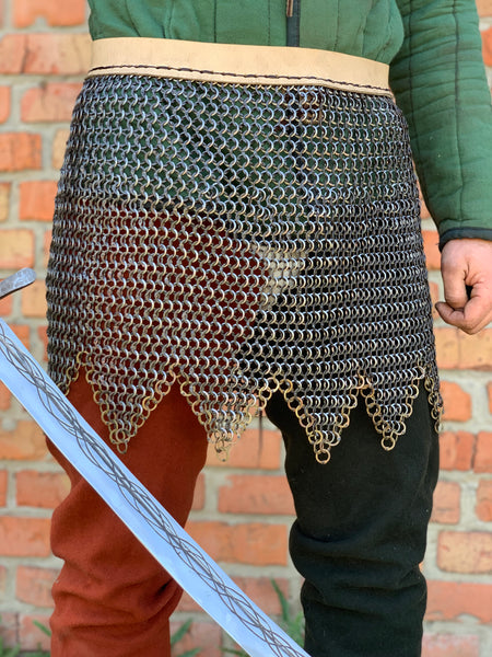 Chain mail skirt