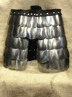 Tempered scale skirt