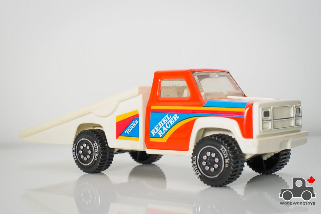 1970s Tonka Rebel Racer Flatbed Truck - Wood Wood Toys Canada's Favourite Montessori Toy Store
