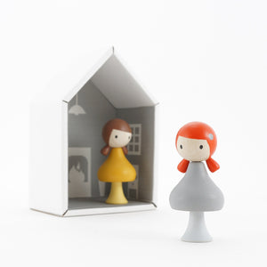 CLiCQUES Magnetic Figurines - Emma & June