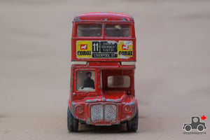 Vintage 1970s Corgi 469 London Routemaster Double Decker Bus Large Diecast