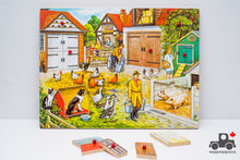 Load image into Gallery viewer, Vintage G. J. Hayter & Co Puzzle - Farm Scene (1977)