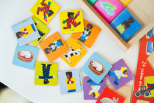 Load image into Gallery viewer, Vilac  Mémo Petit Ours Brun - Wooden Memory Card Game - woodwoodtoyscanada