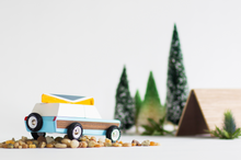 Load image into Gallery viewer, Candylab Toys Pioneer Aspen with Canoe - Modern Vintage Station Wagon