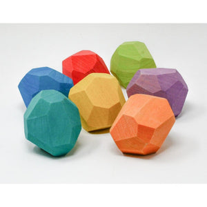Ocamora 'Teniques' Stacking Stones - Coloured (7 pieces)