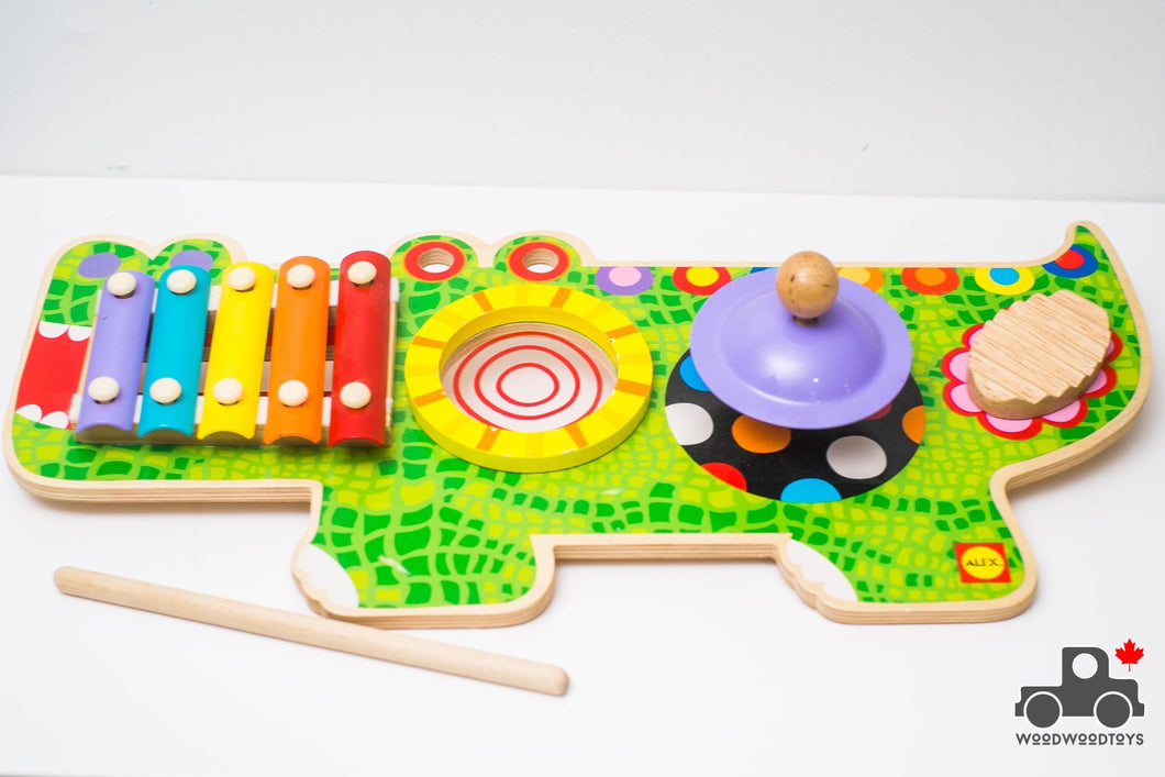 Alex Toys Pretend and Play Musical Animal - Wood Wood Toys Canada's Favourite Montessori Toy Store