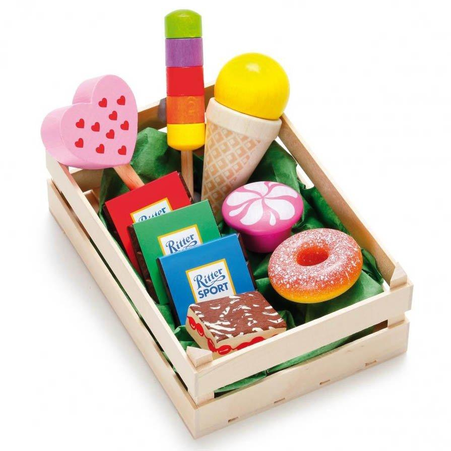 Assorted Wooden Candies - Play Food Made in Germany - Wood Wood Toys Canada's Favourite Montessori Toy Store