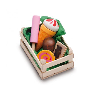 Assorted Wooden Candies (Small) - Play Food Made in Germany - Wood Wood Toys Canada's Favourite Montessori Toy Store