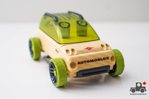 Automoblox Mini Racer - Wood Wood Toys Canada's Favourite Montessori Toy Store