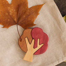 Load image into Gallery viewer, Autumn Tree Puzzles by Avdar - Wood Wood Toys Canada's Favourite Montessori Toy Store