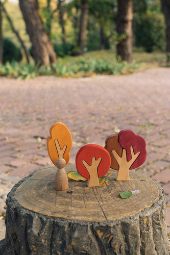 Autumn Tree Puzzles by Avdar - Wood Wood Toys Canada's Favourite Montessori Toy Store