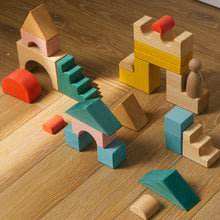 Load image into Gallery viewer, Avdar Building Blocks (Set of 23) - Wood Wood Toys Canada's Favourite Montessori Toy Store