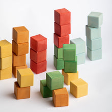 Load image into Gallery viewer, Avdar Classic Cube Blocks - Wood Wood Toys Canada's Favourite Montessori Toy Store
