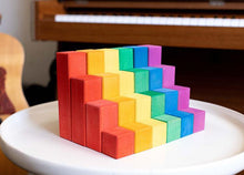 Load image into Gallery viewer, Avdar Counting Blocks (Set of 24) - Wood Wood Toys Canada's Favourite Montessori Toy Store