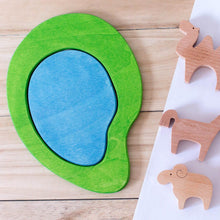 Load image into Gallery viewer, Avdar Wooden Lake (Summer/Winter) - Wood Wood Toys Canada's Favourite Montessori Toy Store