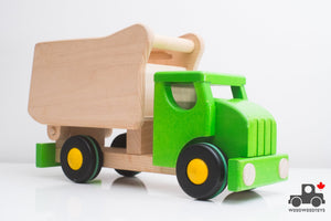 Bajo Wooden Dump Truck - Wood Wood Toys Canada's Favourite Montessori Toy Store