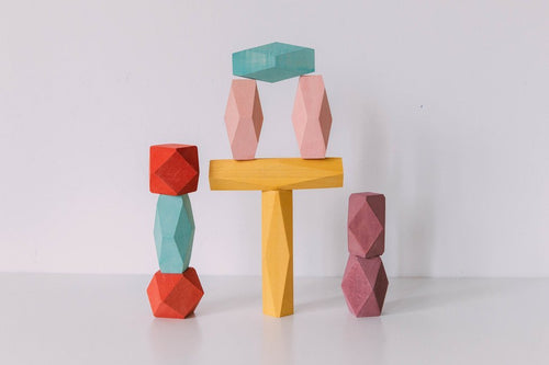 Balance Block Set by Avdar Toys - Wood Wood Toys Canada's Favourite Montessori Toy Store
