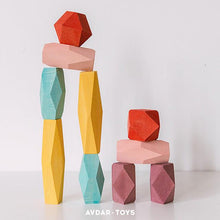 Load image into Gallery viewer, Balance Block Set by Avdar Toys - Wood Wood Toys Canada's Favourite Montessori Toy Store