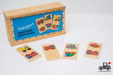 Load image into Gallery viewer, Bigjigs Toys Transport Dominoes - Wood Wood Toys Canada's Favourite Montessori Toy Store