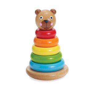 Brilliant Bear Magnetic Stack-up by Manhattan Toy - Wood Wood Toys Canada's Favourite Montessori Toy Store