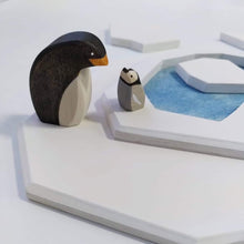Load image into Gallery viewer, Brin d'Ours Handmade Penguins - Wood Wood Toys Canada's Favourite Montessori Toy Store