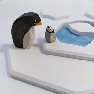 Brin d'Ours Handmade Penguins - Wood Wood Toys Canada's Favourite Montessori Toy Store