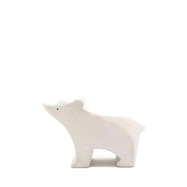 Brin d'Ours Handmade Polar Bear Cubs - Wood Wood Toys Canada's Favourite Montessori Toy Store