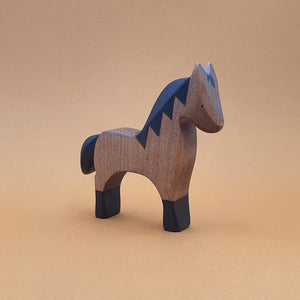Brin d'Ours Handmade Wooden Horse - Wood Wood Toys Canada's Favourite Montessori Toy Store