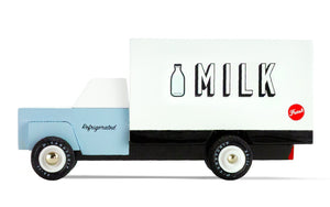 Candylab Americana Milk Truck - Modern Vintage Delivery Van - Wood Wood Toys Canada's Favourite Montessori Toy Store