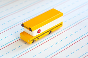 Candylab Cool Bus Modern Vintage School Bus - Wood Wood Toys Canada's Favourite Montessori Toy Store