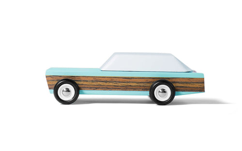 Candylab Junior Woodie Modern Vintage Station Wagon Toy - Wood Wood Toys Canada's Favourite Montessori Toy Store