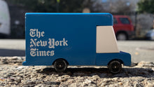 Load image into Gallery viewer, Candylab New York Times Delivery Van - Wood Wood Toys Canada's Favourite Montessori Toy Store