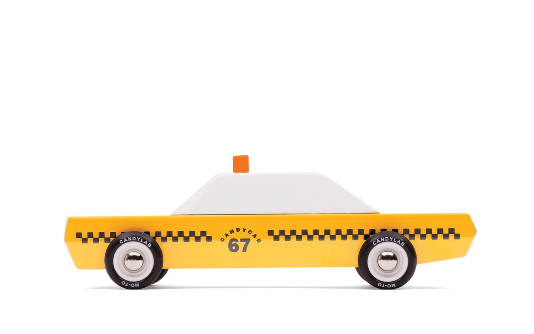 Candylab Toys Candycab - Modern Vintage Taxi - Wood Wood Toys Canada's Favourite Montessori Toy Store